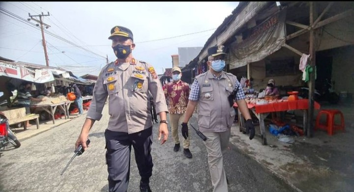 Pelaksanaan Swab Antigen ditempat bagi warga yang melanggar PPKM Level 4 Covid-19 sesuai SE Walikota Medan