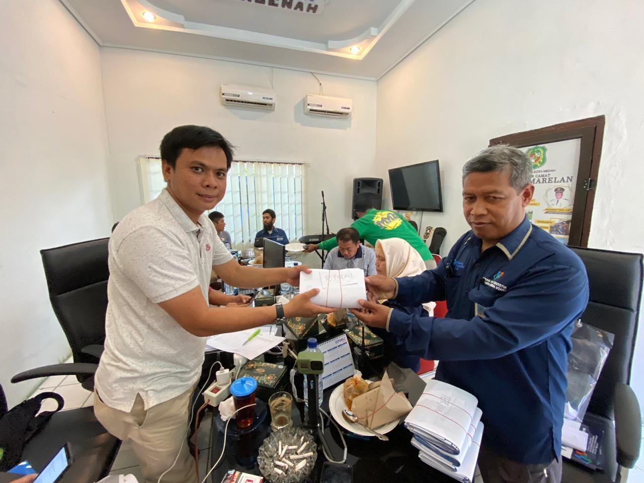 Rapat Kordinasi Sensus Penduduk Tahun 2020 Kecamatan Medan Marelan Kota Medan